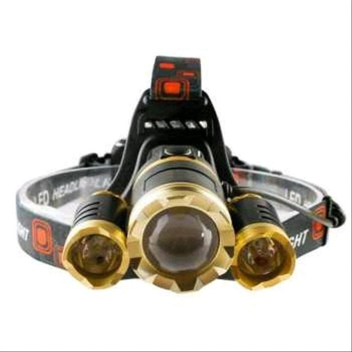 Foto Produk LED Headlamp Cree XML T6 10000 Lumens dari jelitapagi