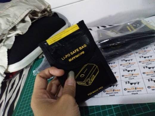 Foto Produk Battery Safe Bag Fire Resistant Storage Case DJI Mavic Pro Sunnylife dari Hakim Pesona Jaya