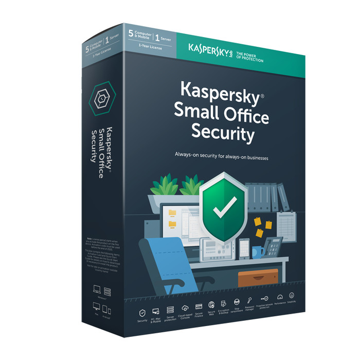 Jual Kaspersky Small Office Security 5user 1server Jakarta Utara Queen Of The King Tokopedia