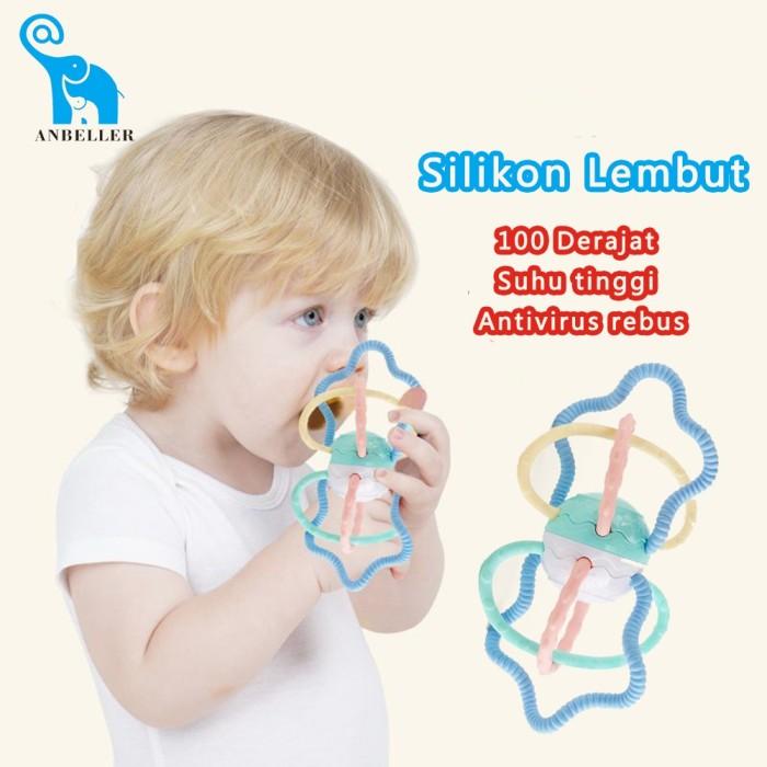 Foto Produk Mainan Bayi Mainan Teether Tangan Bell Guncang Bola Mainan Pendidikan dari septo star