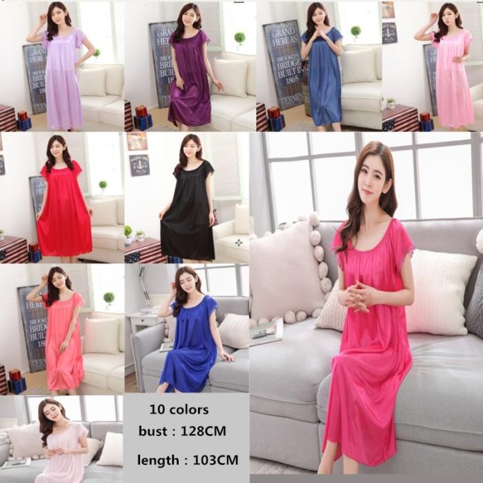 Foto Produk Baju tidur wanita hamil ukuran besar lengan pendek wanita piyama dari septo star