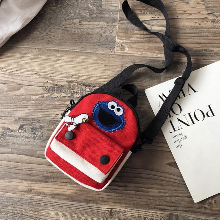 Foto Produk Sesame Street Tas Selempang/Bahu Paket olahraga diagonal Tas dada Tas dari paharjo stock