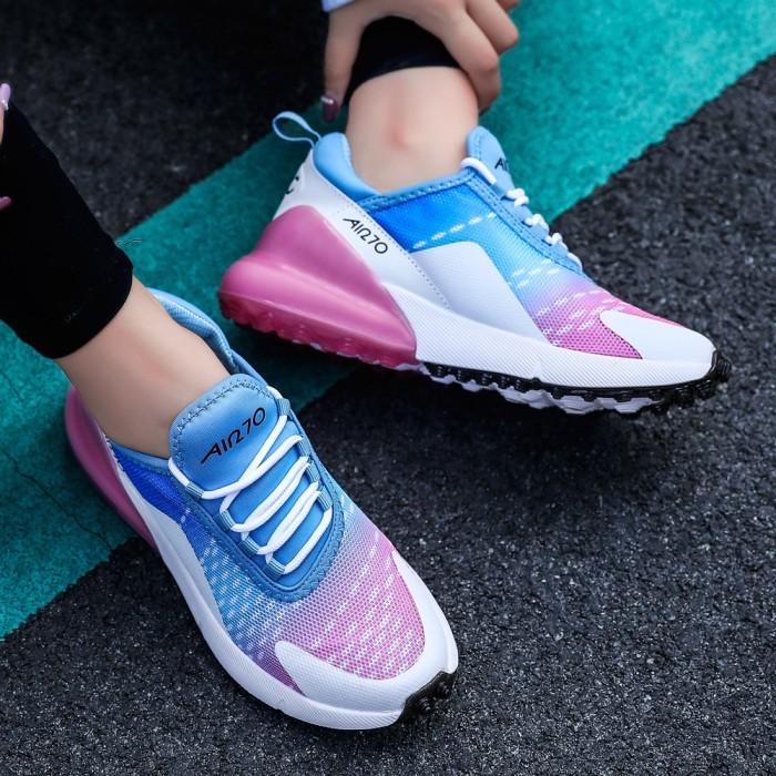 Foto Produk Free kaus kaki】Max270 Sepatu kets Sepatu wanita bernapas Penyerapan dari paharjo stock