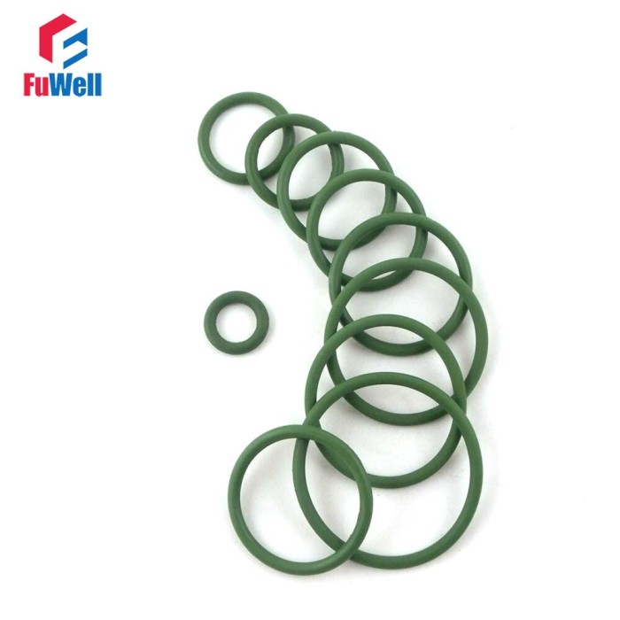50 Pcs 12x9x1.5mm Sealing NBR O Rings Gaskets Washers for Automobile