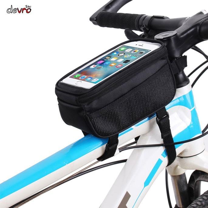 Foto Produk Termurah Tas Sepeda Waterproof untuk 5.5 - 6 inch Smartphone - B-SOUL dari teguh917