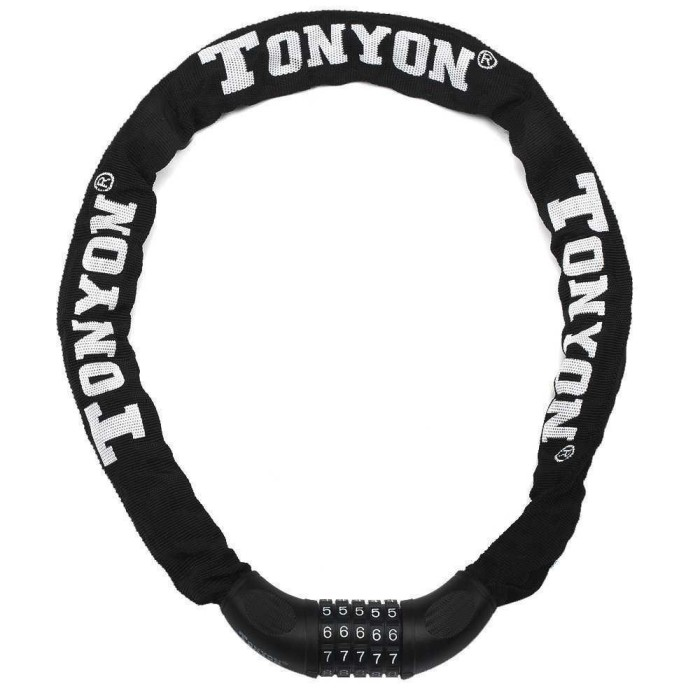 Foto Produk Termurah Tonyon Gembok Sepeda Kode Angka 5 Digit - TY732 B3SE01BK dari teguh917