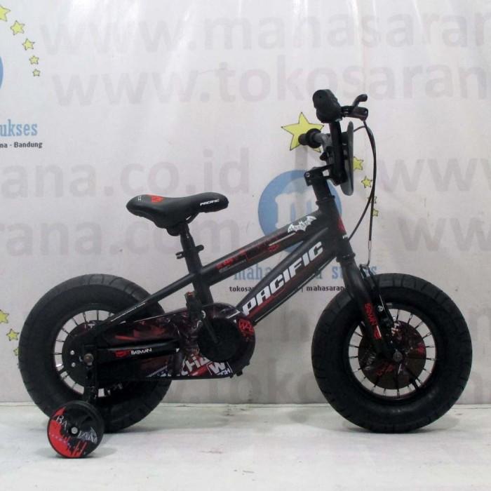 Foto Produk Termurah Sepeda Anak Batman Official Licensed Fatbike BMX 2-4 Tahun Fa dari teguh917