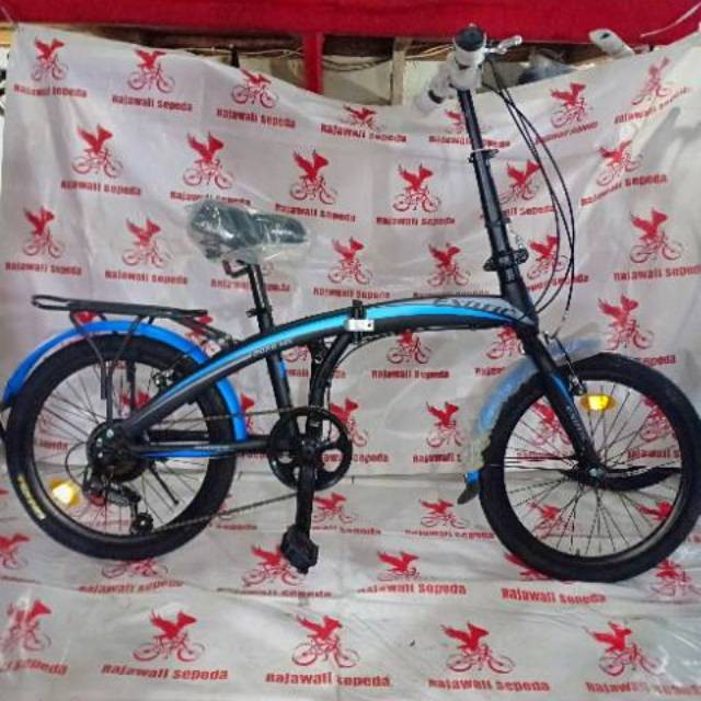 Foto Produk Termurah sepeda anak 16 lipat exotic et 2026 mx gigi 7 sp boncengan dari teguh917