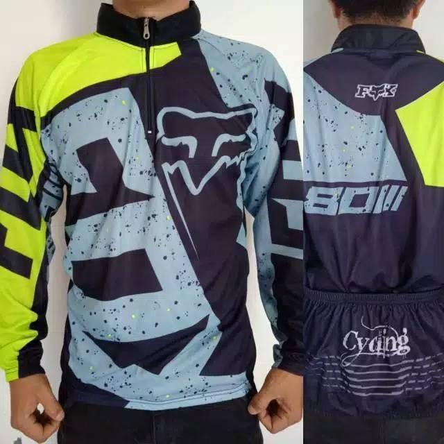Foto Produk Termurah Baju sepeda roadbike panjang dari teguh917
