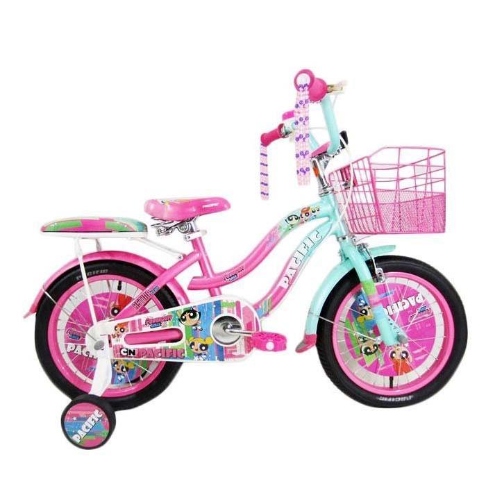 Foto Produk Termurah Sepeda Anak Pacific The Powerpuff Girls Lisensi CTB 4-7 Tahun dari teguh917