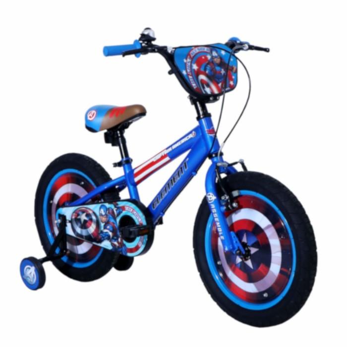 Foto Produk Sepeda Anak Captain America Official Licensed Fatbike BMX 2-4 Tahun Fa dari teguh917