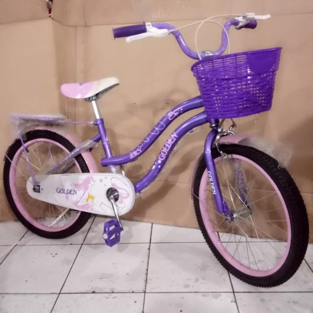 Foto Produk Termurah Sepeda Anak Mini 20 Golden Juicy dari teguh917