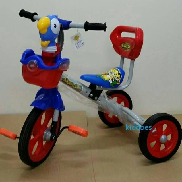 Foto Produk Sepeda Anak Roda Tiga Family 339a Musik dari teguh917
