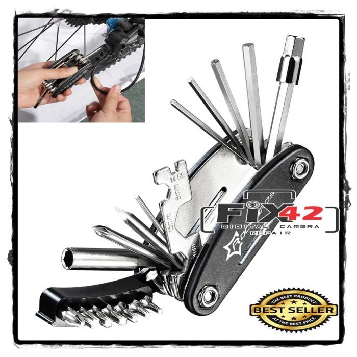 Foto Produk Multi Repair Tool Kit 15 In 1 Every Day Carry. dari mutak647