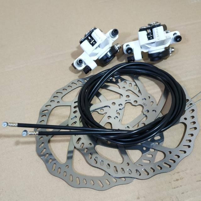 Foto Produk Termurah disc brake mekanik 180mm. dari mutak647