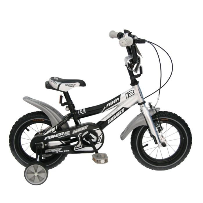 Foto Produk 12in Family Fiber BMX Sepeda Anak Usia 2 - 4 Tahun dari mutak647