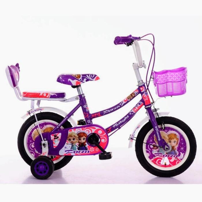 Foto Produk Sepeda Anak Forza Twilight CTB 2-4 Tahun 12in Steel Caliper Tromol Low dari mutak647