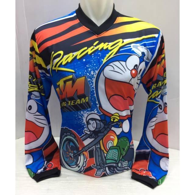 Foto Produk Baju motor racing doraemon dari mutak647