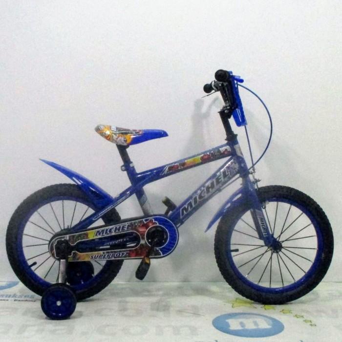 Foto Produk Termurah Sepeda Anak Michel Superbotz BMX 4-7 Tahun 16 Inci Steel OPC dari andri756