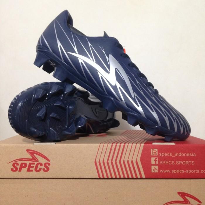 Foto Produk Termurah Sepatu Bola Specs Flash 19 FG Dark Navy Silver 100874 Origina dari andri756