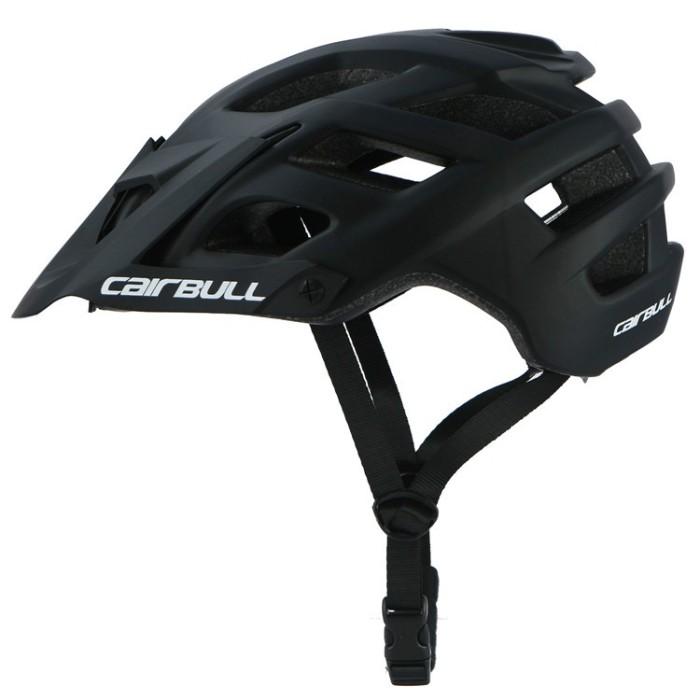 Foto Produk CAIRBULL Helm Sepeda MTB Trail XC EPS Foam - J5SE01BK Black dari andri756