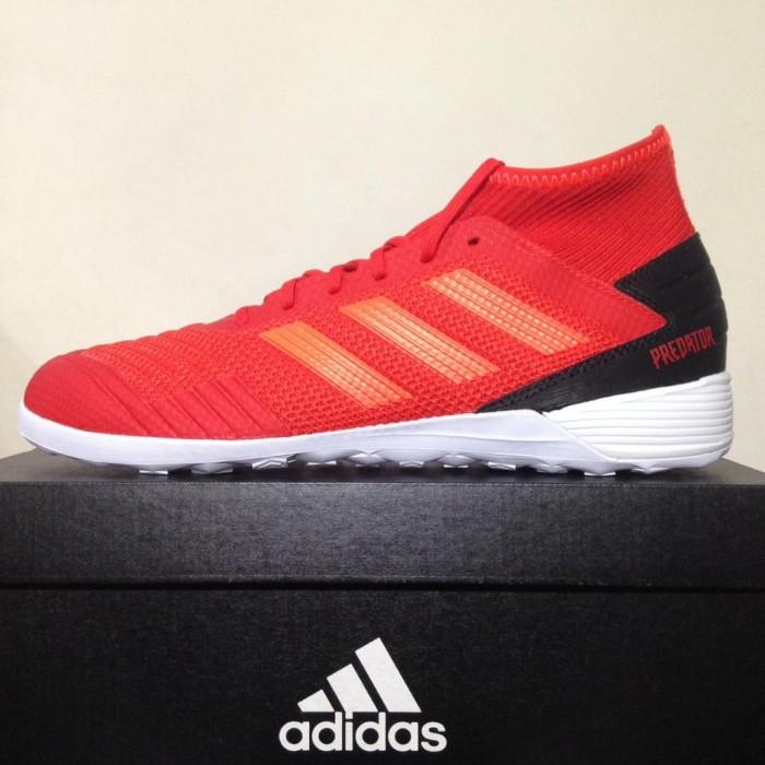 Foto Produk Termurah Sepatu Futsal Adidas Predator 19.3 IN Active Red D97965 Origi dari andri756