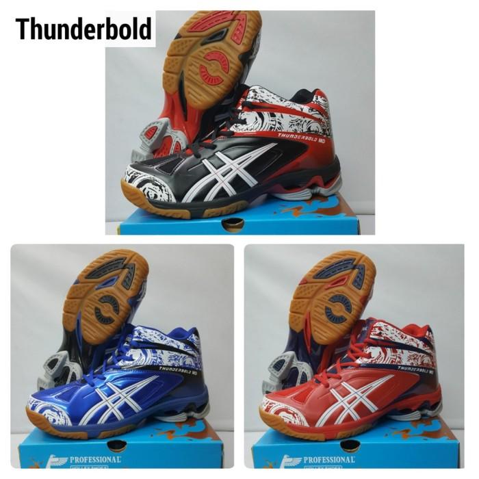 Foto Produk Termurah Sepatu Voli Volley PROFESSIONAL - Thunderbold MD dari andri756
