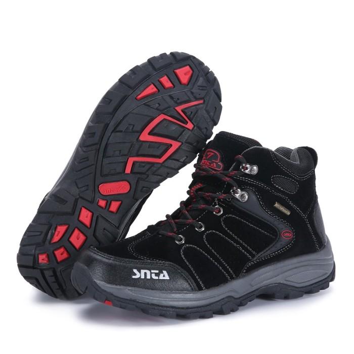 Foto Produk Termurah Sepatu Gunung SNTA 482 Olahraga Outdoor- Hiking -Black Free T dari andri756