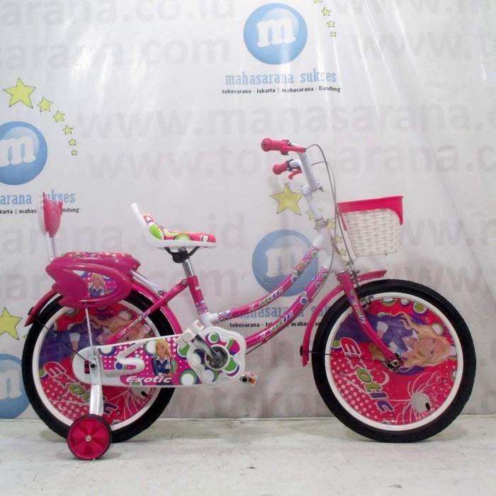 Foto Produk Sepeda Anak Exotic Pretty Girl CTB 5-8 Tahun 18 Inci Low Step Frame Ci dari novia197