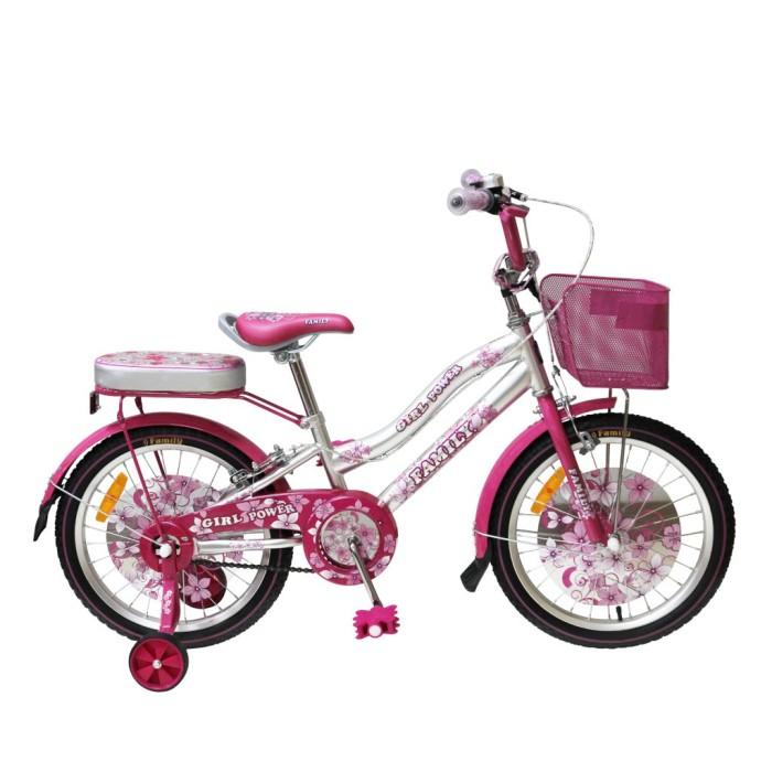 Foto Produk 16in Family Girl Power CTB Sepeda Anak Perempuan Usia 4 - 7 Tahun dari novia197