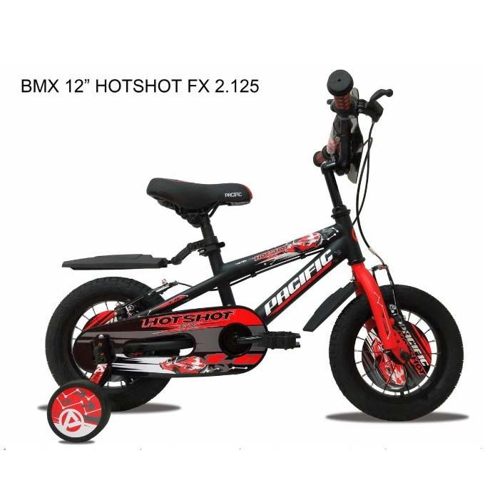 Foto Produk Termurah Sepeda Anak Pacific Hotshot FX2.125 BMX 2-4 Tahun Ban 12 Inci dari novia197