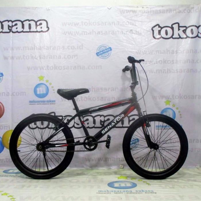 Foto Produk Termurah Sepeda BMX Senator Hibore Classic Remaja-Dewasa 20 Inci Steel dari novia197