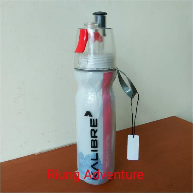 Foto Produk Botol minum Sepeda 2in1 Insulated Kalibre 994070-999 Botol Sport New dari novia197