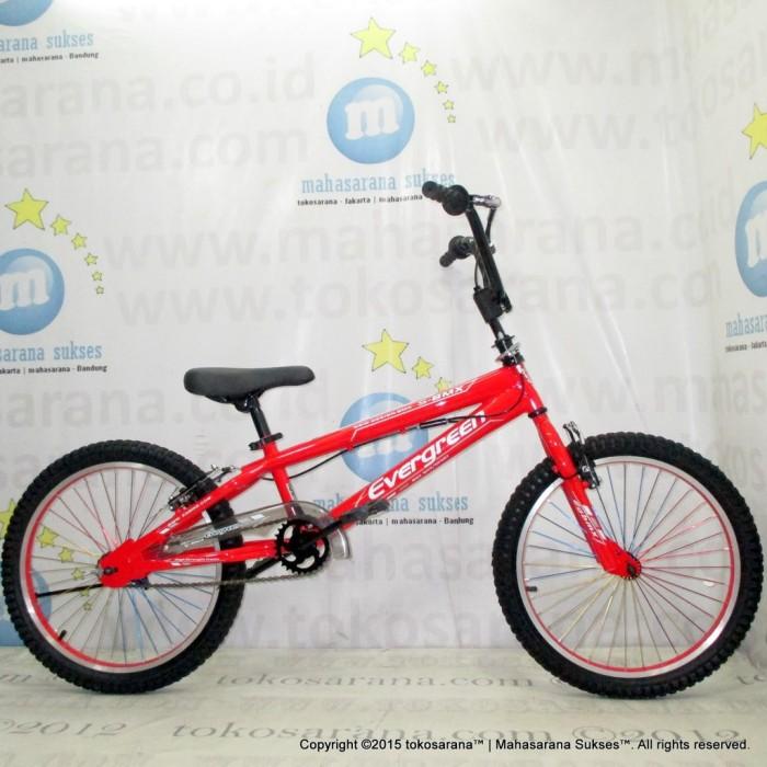 Foto Produk Termurah Sepeda BMX Evergreen E3 FreeStyle Remaja-Dewasa 20 Inci Hi-Te dari rendi474