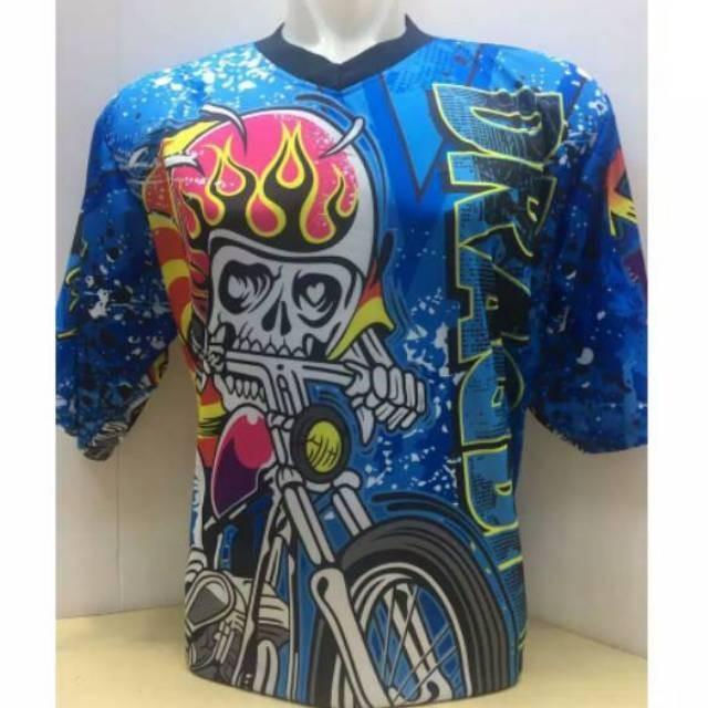 Foto Produk Termurah Baju dragbike pendek - baju racing dari rendi474