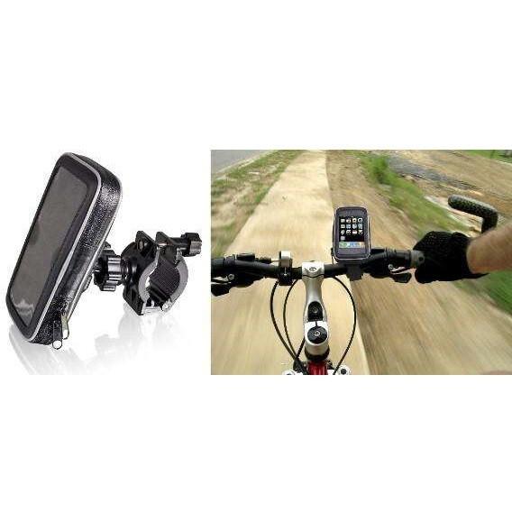 Foto Produk Termurah Universal Bike Mount with Waterproof Case for Smartphone 5.5- dari rendi474