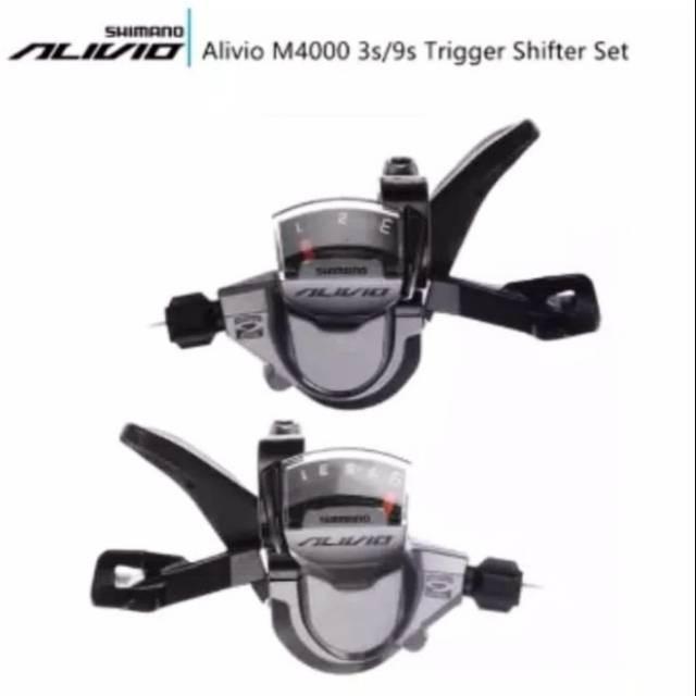 Foto Produk SL M4000 3X9s SHIMANO ORIGINAL. SHIFTER SHIMANO ALIVIO ORIG 3X9s M4000 dari rendi474
