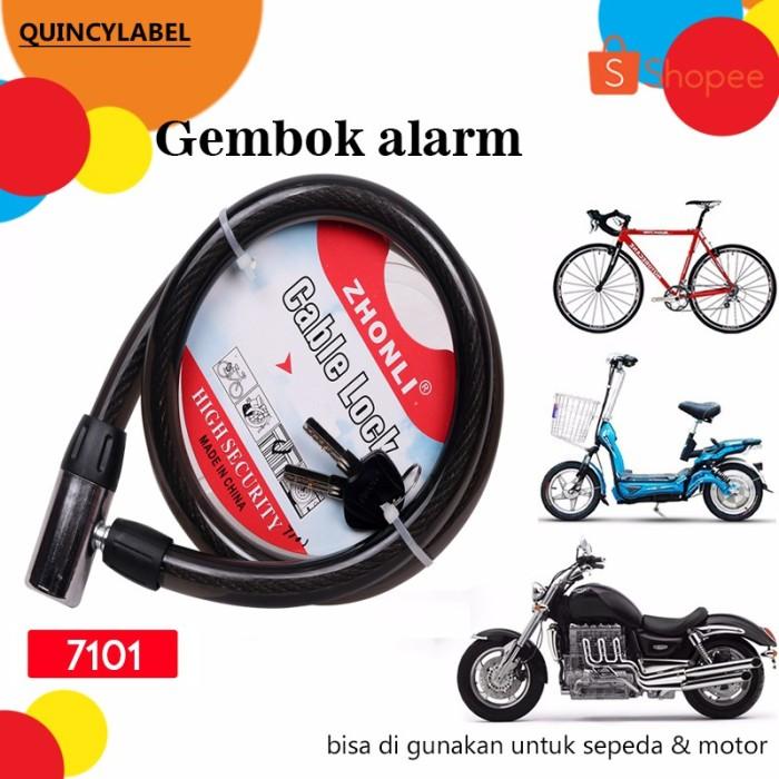 Foto Produk Quincy Home - Gembok 7101 Alarm Motor Dan Mobil dari rendi474