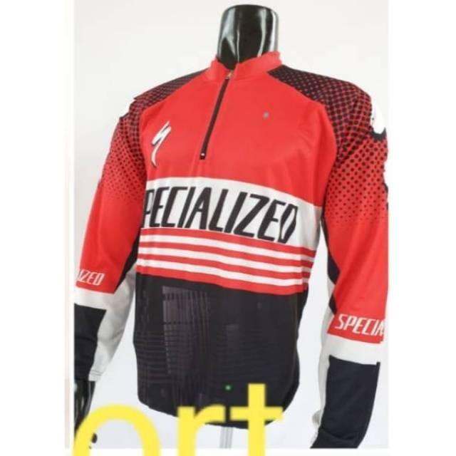 Foto Produk Termurah Baju sepeda panjang kantong belakang dari rendi474