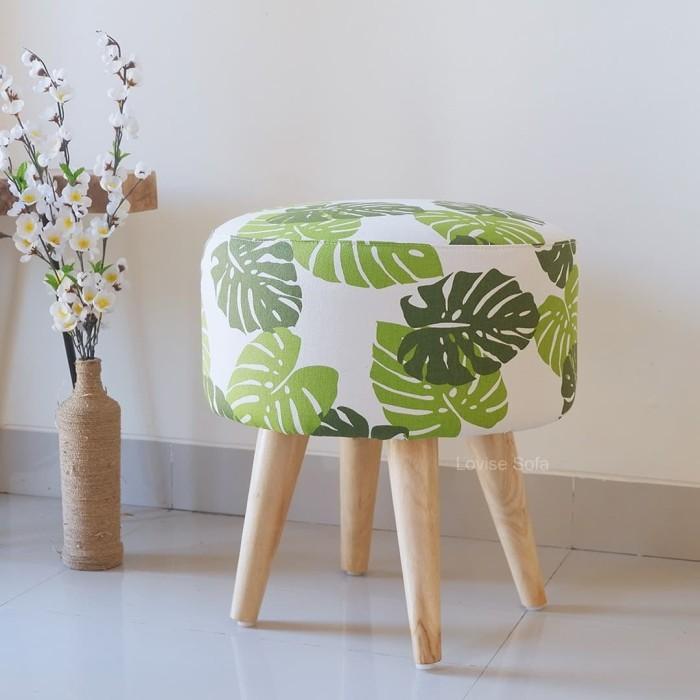 Foto Produk sofa stool/stool custom/kursi puff - Orange dari FGA Ols