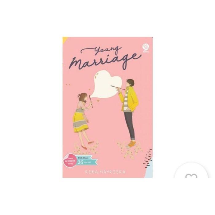 Foto Produk Novel - YOUNG MARRIAGE - Rina Mayriska dari Venusss_store