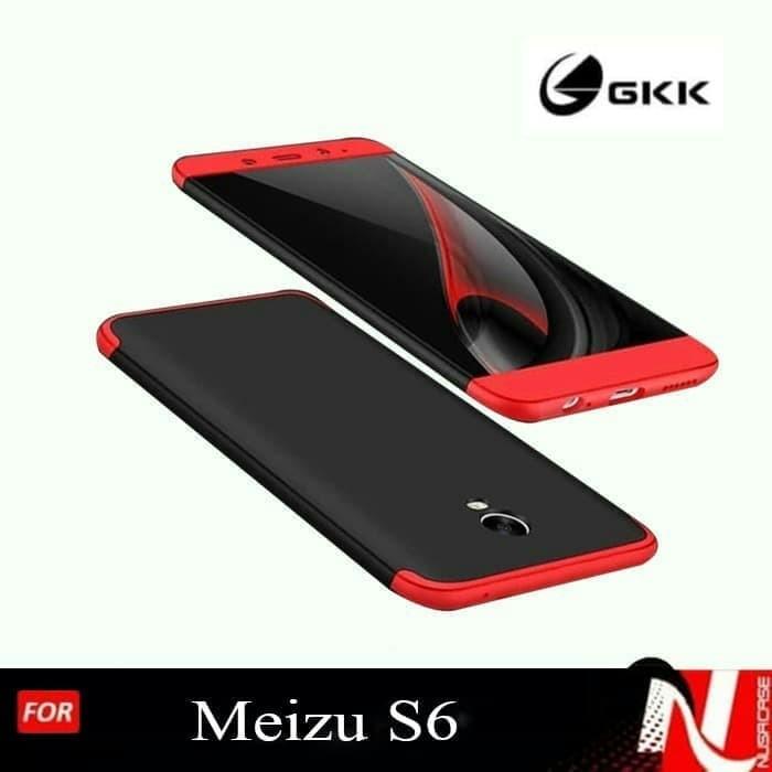 Foto Produk CASING MEIZU S6 FULL PROTECTION -- Hard Case Cover Hp dari Kene Siki