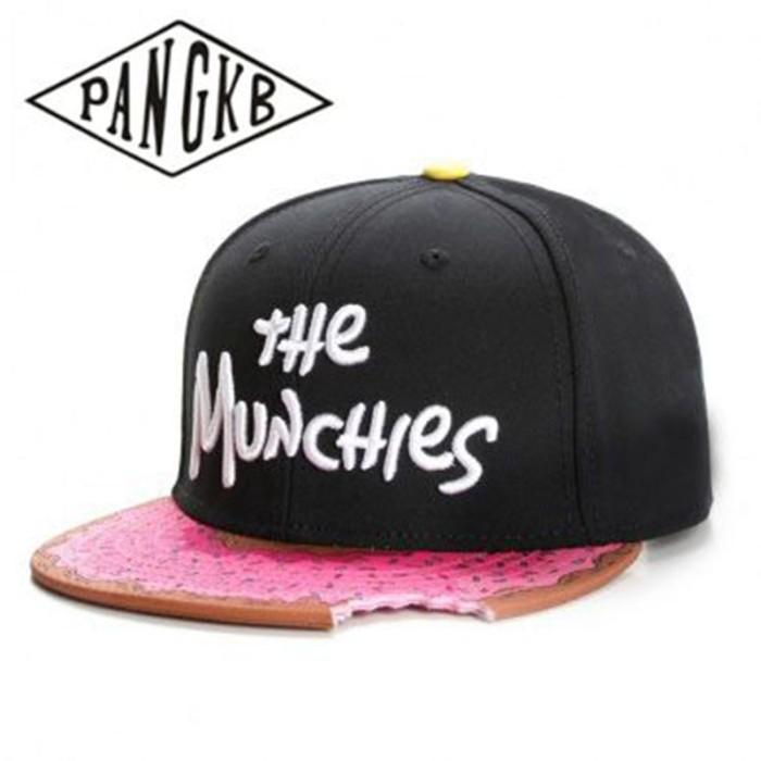 Foto Produk PROMO PANGKB Brand MUNCHIES CAP snacks pink snapback hat men women dari Evelyn Store07