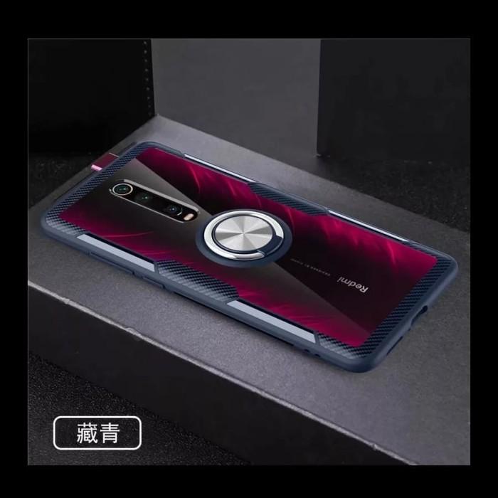 Foto Produk Xiaomi Redmi K20Pro Mi9T Pro XUNDD Luxury Magnetic Bumper Cover Case - Navy dari Barelang Island Shop