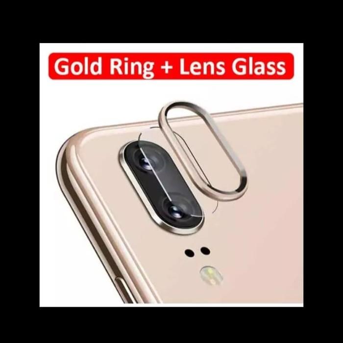 Foto Produk Huawei P20 Pro P30 Lite Honor 20 Camera Protector Tempered Glass Case - Gold dari Barelang Island Shop