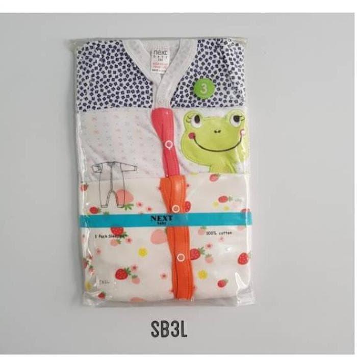 Foto Produk zdLA042 Baju Bayi Sleepsuit Buka Kaki Girl SB simbol1 dari BQ Rafs