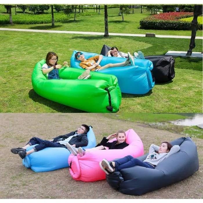 Foto Produk Lazy Lay Bag / Air Bed Sofa/Kasur Angin/Kasur Malas dari Vinaolshop354