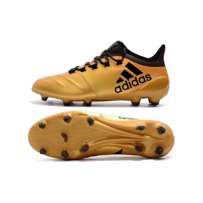 Foto Produk penjualan flash!Send bag】X 17.1 leather FG35-45 Asli Sepatu Sepak dari Quickto