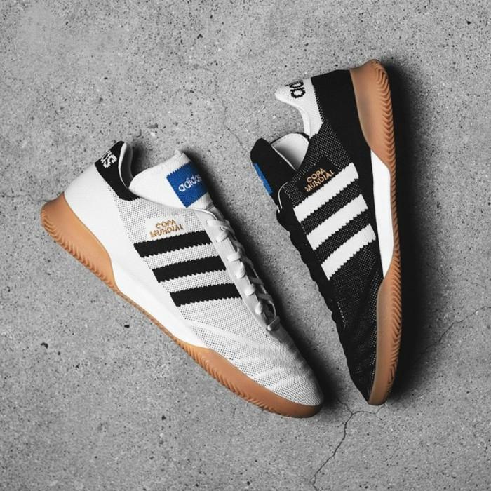 Foto Produk Tas sepakbola gratis】COPA 70Y IN Menenun Sepatu datar Futsal Sepatu dari Quickto