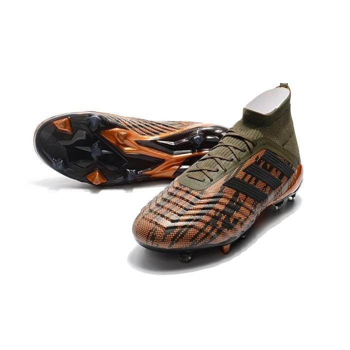 Foto Produk Kirim kaus kaki】Predator 18  FG39-45 Dengan tali Asli Sepatu Sepak dari Quickto